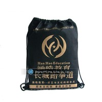 Eco friendly non woven shoulder college bag