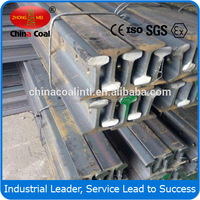 9kg/m light steel rail for narrow gauge electric locomotives