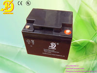 Industrial AGM rechargeable 12v 45ah sreet lamp battery