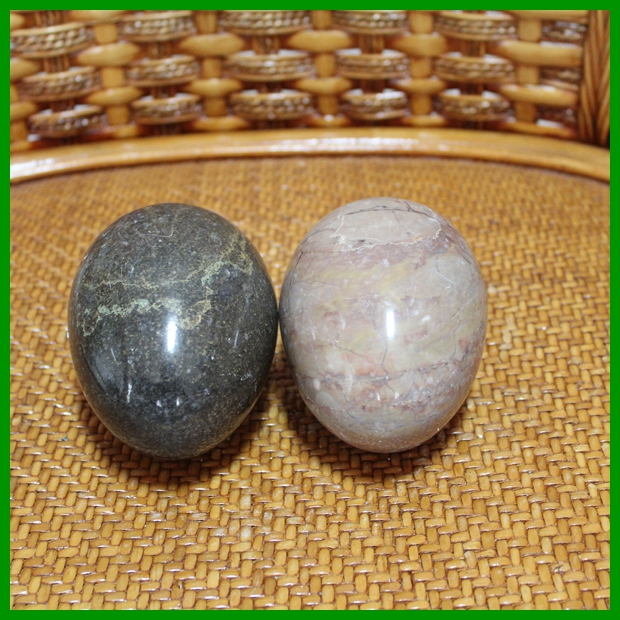 Egg shaped can be customized stone arts and crafts 002