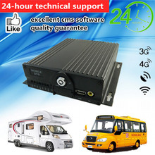 Video/Audio Real-time Transmission 3G Wireless Mobile DVR With 3G WCDMA