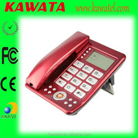 New product hand free volume adjustable caller id cord phone