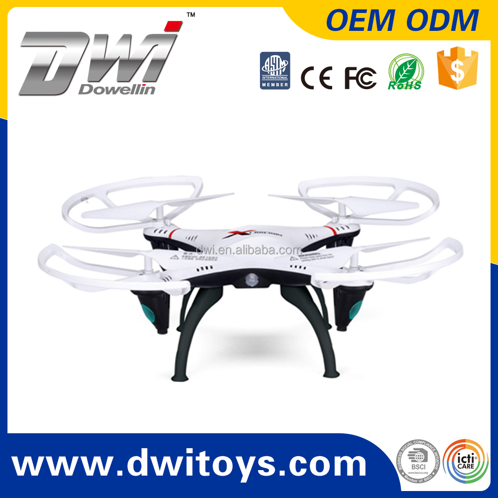 DWI RC toy drone quadcopter drone 2.4G 4CH 6 Axis Gyro 2MP HD Camera