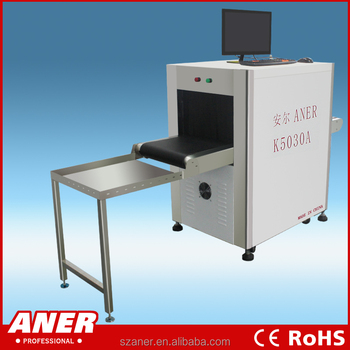 Hotel X-ray baggage scanner parcel x-ray inspection machine,Airport Luggage security cheching machine K5030A