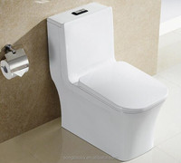 9182 Shower room floor mounted ceramic one piece toilet