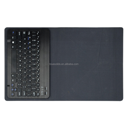 Keyboard Wholesale 10 inch tablet pc leather case with bluetooth keyboard, for iPad keyboard case