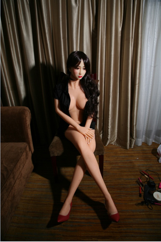 OEM Refeng flesh body and uniform TPE skeleton silicone dolls office sex woman