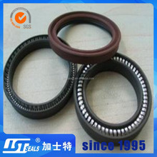 Guangzhou factory spring energized PTFE seal for wind power main shaft