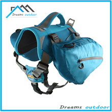 Dog Backpack S M L - Strong Design - Compact Nylon Lead Included Backpack for dog