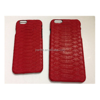 China Leather Phone Case Manufacturer for IPhone 5 Red Back Cover