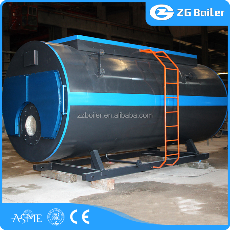 Textile, Paper, Food, Industry Used automatic gas hot water boiler South Korea