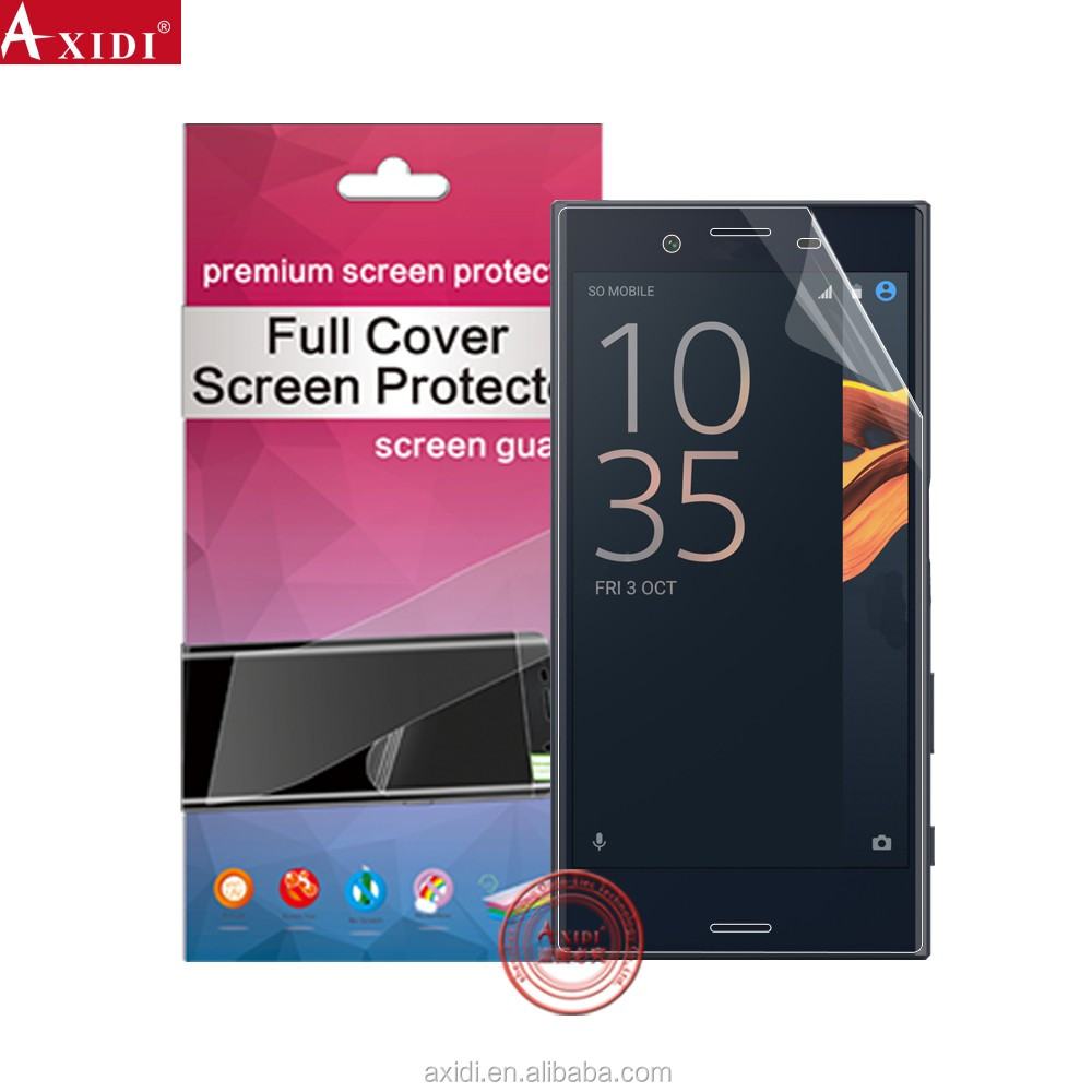 Yichuang Factory Used Mobile Phones Touch Nano Screen Film , 3D full coverage Screen Protector For Sony xperia x compact