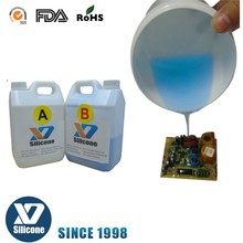 Liquid Electronic potting silicone rubber for LED LCD Circuit board and electronic equipment