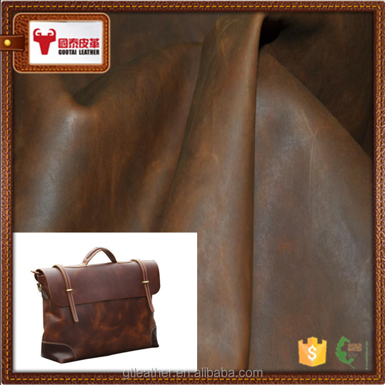 Bag cow split leather genuine roll