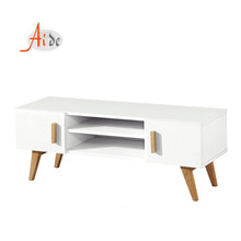 hot sell top quality mdf board wooden white high gloss modern long tv stand <strong>furniture</strong> with showcase