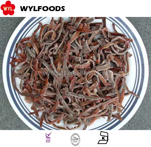 heathy Frozen Mushroon IQF black fungus slices