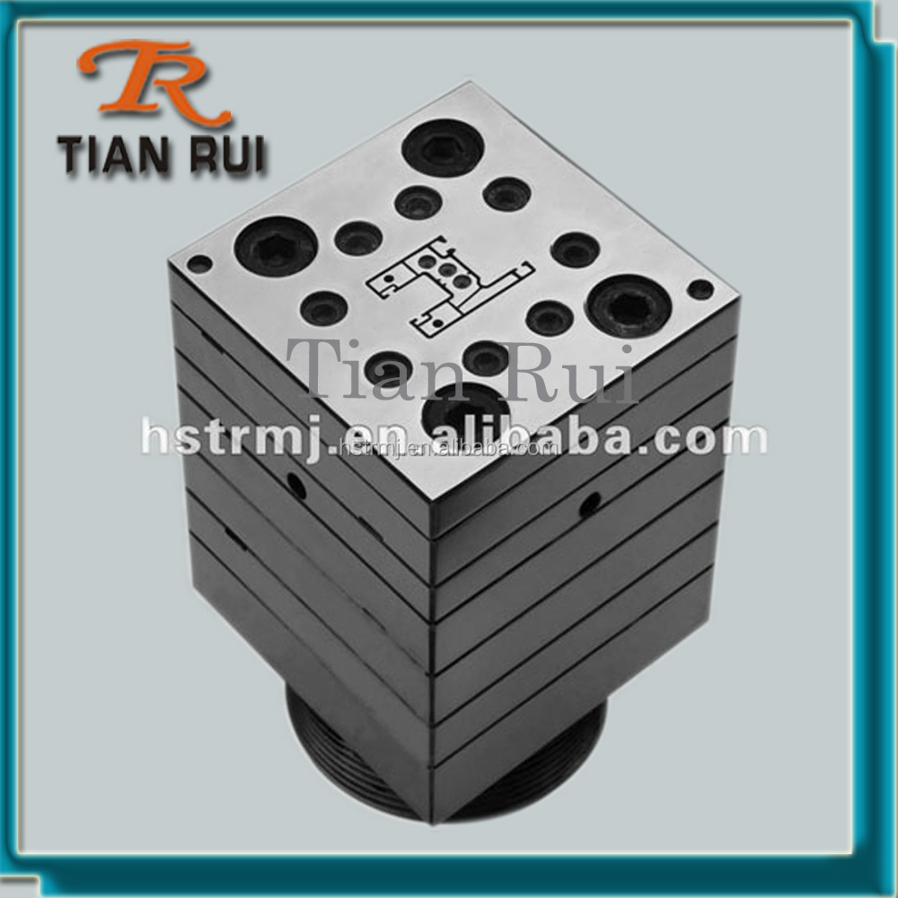 TianRui Extrusion Die Calibrator Water Tank For PVC Window Profile