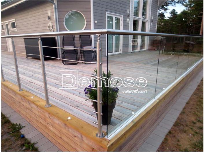 Prefab Wrought Iron Stair Railings Balcony Railings