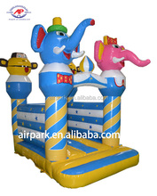 0.5mm PVC inflatable baby jumping bouncer house with CE for family