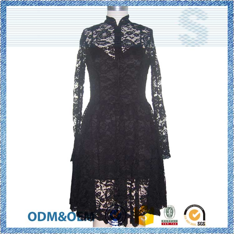competitive price refinement girl party wear western dress