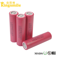 High Quality 18mm*65mm Size Lg 18650 He2 2500mah Rechargeable Toy Car Battery