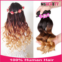full cuticle and nutrition to ensure no tangle 3 tone color pakistan hair talk extensions