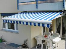 New Design Full Cassette Aluminum Folding Arm Electric Retractable Sun Awning