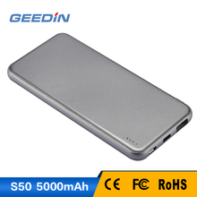 Geedin portable power bank emergency mobile phone charger for phone