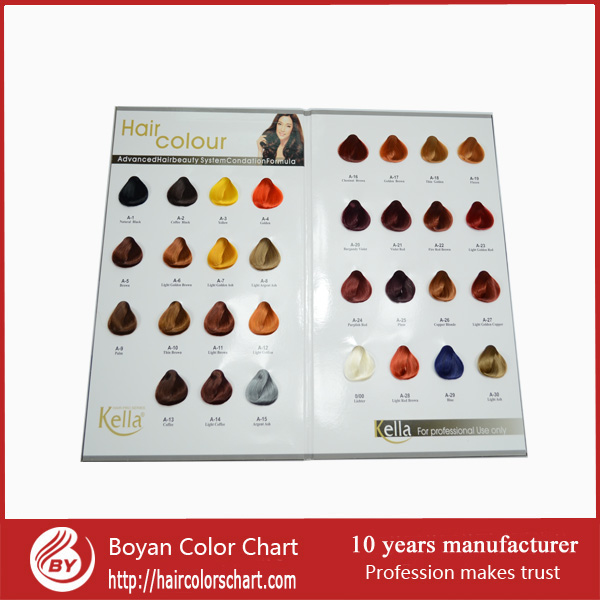 Hair color chart for hair dyeing ice cream hair color chart