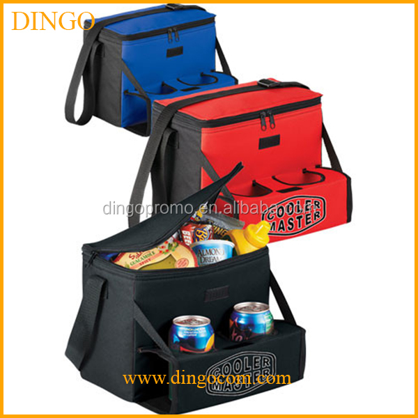 Promotional frozen food and wine bottlet insulated cooler bag