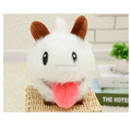 Wholesale cute plush poro mascot toy