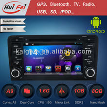 "2-Din 7"" Car DVD Player for Audi A3 Android4.2 + CD + DVD + Boss system"
