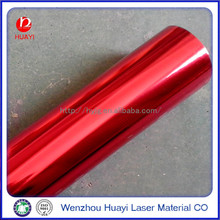 25 micron PET film hot stamping foil for textile