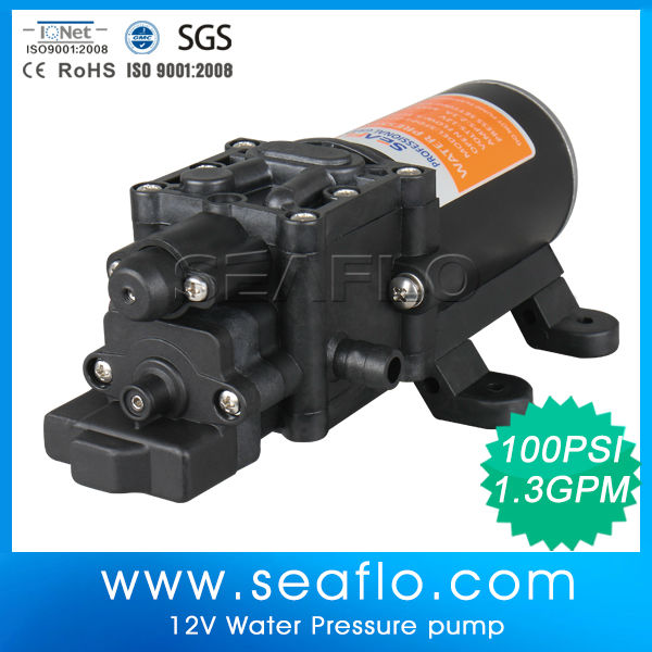 SEAFLO 12V Water Usage and 24v DC Diaphragm Theory Water Pump Booster Pump