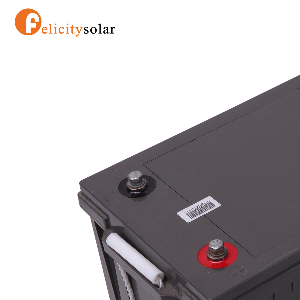 Felicity solar Professional 2016 12v 200ah solar powered battery heater Acid recharge battery
