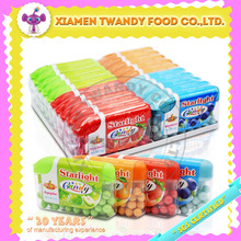 12g High Quality fruity flavored Starlight hard candy