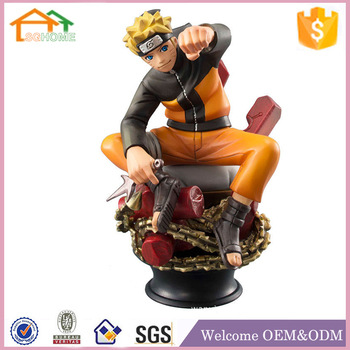 Factory Custom made best home decoration gift polyresin resin anime figure factory