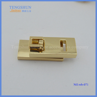 The zinc alloy twist lock for handbag hardware suplied from manufacture of China