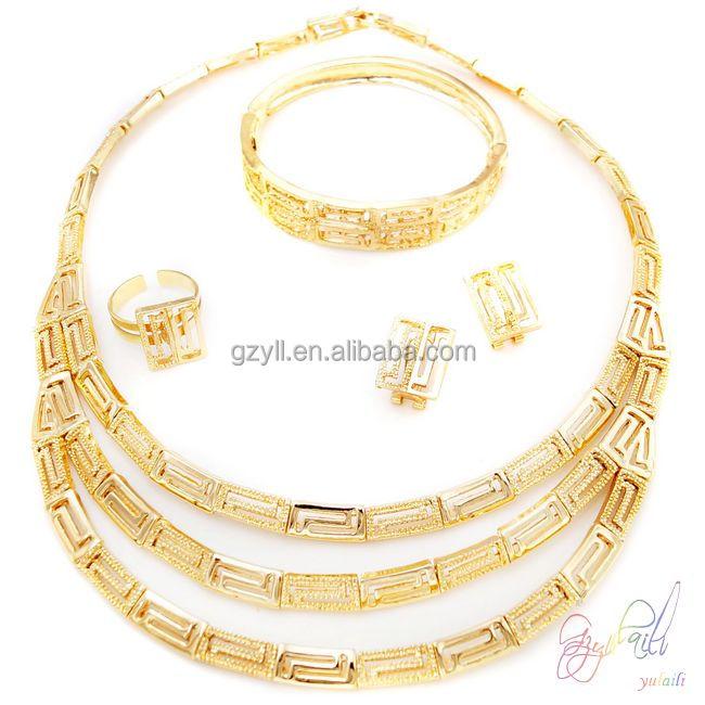 Wholesale 24k gold jewellery dubai line Buy Best 24k gold