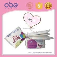 Disposable female menstrual pads anion sanitary napkin for women freecare