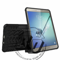 Newest Stylish armor rugged kickstand heavy duty TPU+PC combo tablet case For Samsung Galaxy Tab S2 8.0 T710 China Supplier