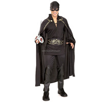 halloween costumes for men zorro bandit simple cosplay plus size carnival costume QAMC-8268