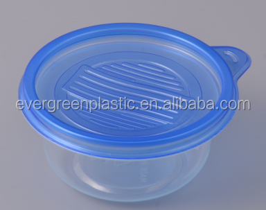 Disposable small round food storage container 50816