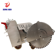 ZongSen 11.5KW Mini Portable Walk behind Concrete Road Cutting Saw Machine Electric Slab Asphalt Road Cutter for sale