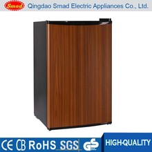 Wood door refrigerator /colored personalised mini fridge