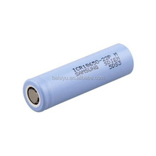 New stock! SAMSUNG ICR18650-22P 2200mAh 10A lithium ion battery 18650 2200mah 3.7v protected li-ion cells