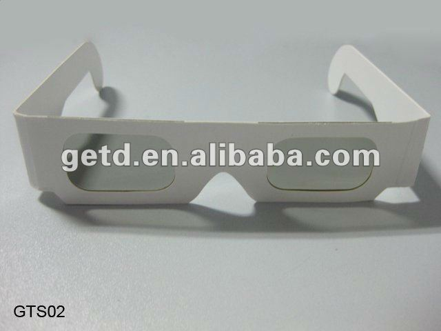 Four color printing available paper imax 3d glasses
