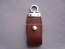 promotional bulk factory direct selling usb flash drive gift Brand Custom Leather Can be printed logo