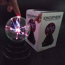 MingXiong Plasma Ball Lamp Light [Touch Sensitive] Nebula Sphere Globe Novelty Toy - USB or Battery Powered