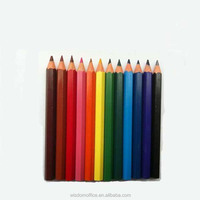 2016 wholesale 3.5 inch 12 color pencil for school students stationery